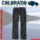 Colorado Lake Jeans BLACK Herrenjeans Hose Hosen W 36 38 40 42 44 46 bis L38