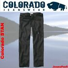 Colorado STAN BLACK Jeans Weite 40 42 44 46 48 50 52 54 Länge 38 36 34 32 30