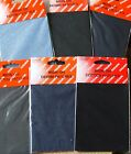 2 COTTON OR DENIM IRON ON REPAIR PATCHES VARIOUS COLOURS AVAILABLE TO CHOOSE
