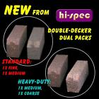 "Hi-Spec ""Double-Decker"" Dual-Pack track-cleaners for Scalextric slot car tracks"