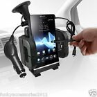 WINDSCREEN MOUNT PHONE HOLDER & IN CAR PHONE CHARGER FOR VARIOUS HANDSETS