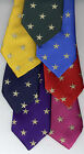 Gold Lurex Stars Show Tie Adult's UK Manufactured