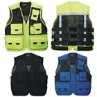 New Multi Pockets Fly Fishing Hunting Mesh Vest Mens Travel Outdoor Jacket Top C