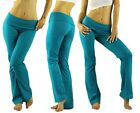 Pick Color For 1 Comfy Foldover Soft Yoga Sweat Track Lounge Gym Sport Pant