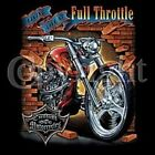 Full Throttle T Shirt Rider BLACK OR GRAY Biker M TO 6XL