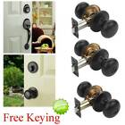 Tahoe Aged Oil Rubbed Bronze Door Hardware Knobs, Locks