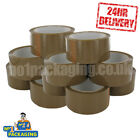 *MULTI-LISTING* BROWN BUFF PARCEL TAPE 66M PACKAGING PACKING  24 HOUR DELIVERY!