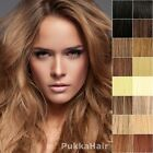 Clip In Remy Human Hair Extensions Full Head Any Colour Long UK 15 18 20 24