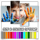 Your photo or picture mounted on to canvas 4 Panel - COLOUR / SIZE OPTIONS