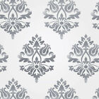 Stencils, Damask stencil design, reusable wall stencil for interior home decor