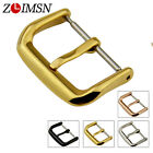 Watch Band Strap Buckle Polished Stainless Steel Parts 10 12 14 16 18 20 22 24mm image