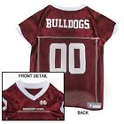Mississippi State Bulldogs NCAA Licensed Pet Dog Football Jersey