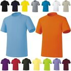 Solid Plain Cotton Kids Childrens Childs Boys Girls Junior Top Tee T-Shirts AU