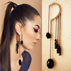 New Hot Fashion Vintage Punk Gothic Tassel Chain Clip Ear Cuff Wrap Earring