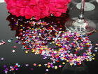 MULTICOLOUR WEDDING TABLE SCATTER CRYSTALS DIAMOND CONFETTI FAVOUR DECORATION