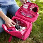 New Lug Travel  FLIP-TOP Makeup Toiletry Case 2-in-1 Cosmetic Bag PICK  A  COLOR