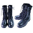 sbd0301black military summer walking boots