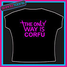 CORFU HEN PARTY HOLIDAY CLUBBING ESSEX TOWIE TSHIRT