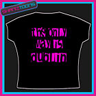 DUBLIN LADIES HEN PARTY HOLIDAY SLOGAN TSHIRT