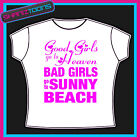 SUNNY BEACH GIRLS HOLIDAY HEN PARTY PRINTED TSHIRT