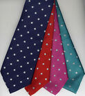 Silver Lurex Spots Show Tie Children's Junior UK Manufactured