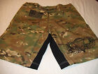 US ARMY AIRBORNE COMBATANT MMA PT FIGHT STREET NEW CAMO BOARD SHORTS  S- 4XL