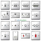 BG Nexus Chrome Switches and Sockets - Full range Satin / Brushed / Polished