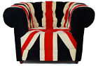 NEW LUXURY FABRIC ENGLAND / UNION JACK FLAG SOFA - RRP £3999