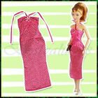 Handmade Barbie Evening Party Dress Gown Clothes Shoes Bags Set Birthday Gift