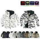 NWT Winter Mens Womens FullZip Snowboard Ski Jacket Jumper Hoodie Hooded Top US