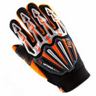 NEW Motorcycle Motocross BMX MX ATV Dirt Bike Bicycle Textile Gloves Orange