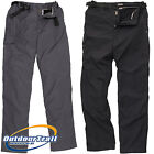 Craghoppers Winter Lined Kiwi Mens Walking / Hiking Trousers