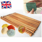 18/15 Pairs Bamboo/Circular Single Pointed Knitting Needles Set 24/35/100cm Free
