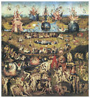 Garden of Earthly Delights c.1516- Hieronymus Bosch- On Canvas
