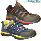 MENS GROUNDWORK SAFETY STEEL TOE CAP TRAINERS WORK SHOES HIKING WALKING BOOTS