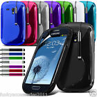 S-Line Quality Slim Sports Wave Gel Phone Case Cover for Samsung Galaxy S3 Mini