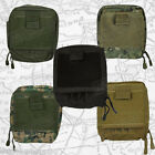"Tactical Map Case - MOLLE, Unzips Completely So Case Lays Flat, 7"" x 6"" x 2"""