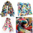 Various Top Quality Ladies Cute Pretty Designs Colours Chiffon Scarves Scarf