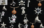 "Many style Rhinestone pendant Necklace 16"" silver & color BUY 3/1 FREE/ship free"