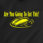 Are You Going To Eat This? food pussy dick pizza vintage 69 retro Funny T-Shirt