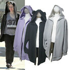 H99 Cute Cozy TeddyBEAR hood pocket Zip up Oversized style Hoodie