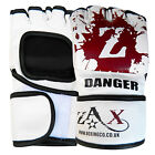 Rex Leather MMA  Gloves / Boxing Grappling Gloves Training Cage Fight Gloves