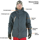 £120 ANIMAL MENS TECHNICAL WATERPROOF/INSULATED CHILAM SKI SNOW JACKET/COAT ♦
