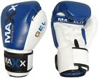 Maxx Integrated Aero Gel Padded Leather Boxing Gloves,Punch Bag MMA,Sparring S1