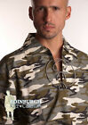 GENTS' SCOTTISH DELUXE GHILLIE SHIRT - JACOBEAN STYLE - GREY CAMOUFLAGE
