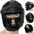 Boxing Head Guard Kick Boxing Head Protection Rex Leather Color All Black
