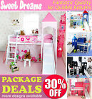 Midsleeper Sets,Cabin Beds + Accessories, Childrens furniture for AMAZING Prices