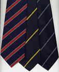 Striped Clip On Ties Various Designs UK Manufactured STOCK CLEARANCE