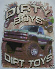 DIXIE DIRTY BOYS & DIRT TOYS 4X4 MUD TRUCK REBEL SHIRT