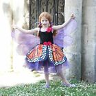 GIRLS FANCY DRESS RED ADMIRAL BUTTERFLY DRESS AGES 3-5 YEARS / AGE 6-8 YEARS